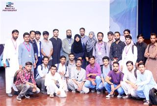 DigiSkills.pk Roadshow at Mehran University, Jamshoro