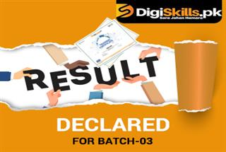 Batch-03 Result has been announced!