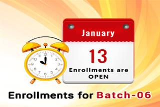 Course Enrollment for Batch-06 (First-Come, First-Served Basis)