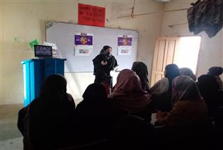 Information Session at Al Muslim College for Girls, Swabi