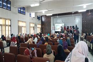 Provincial Launch Event at Women University, Swabi
